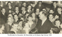 St Albans High Official Opening 1958