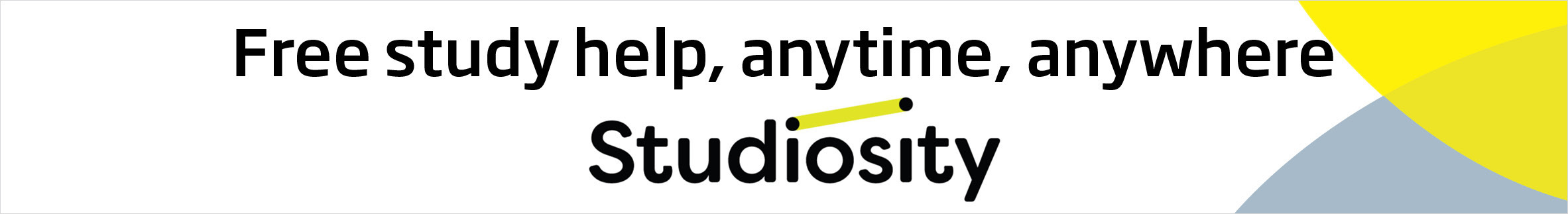 Studiosity Static Strap Banner June20
