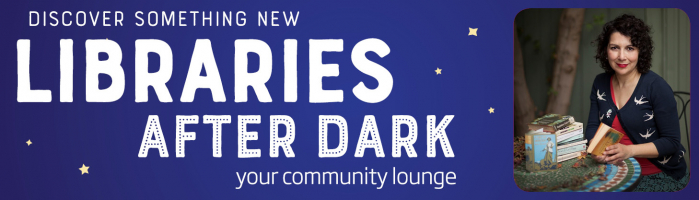 Libraries After Dark:  discover something new:  Reading Circle Series: Bibliotheraphy